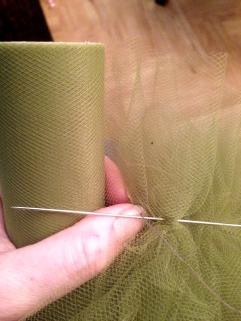 back stitching garland