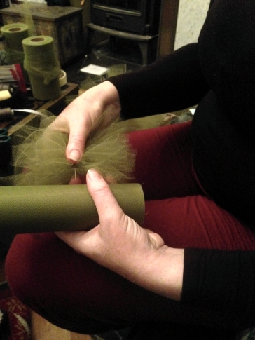 stitching garland