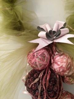 wreath bow